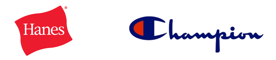 Hanes Champion Logos