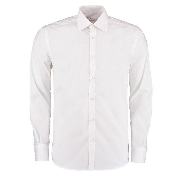 KK192 Slim Fit Business Shirt - Kustom Kit