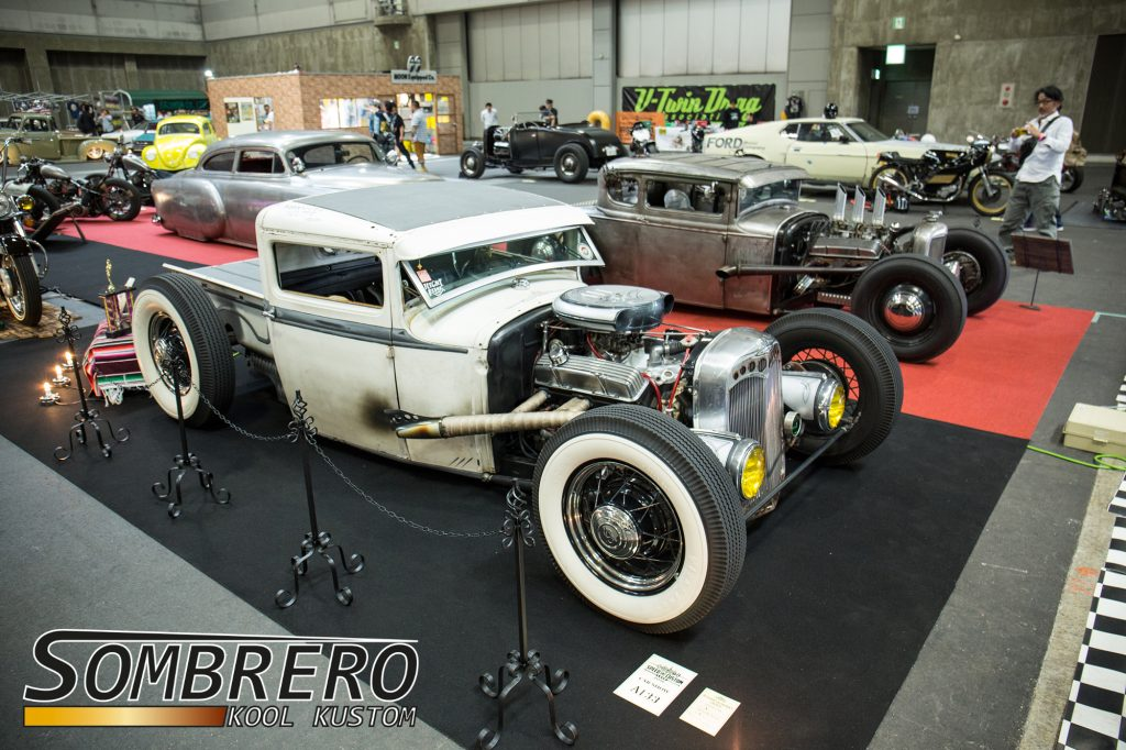 1930-31 Ford Pick-up, Hot Rod, Chevrolet V8, Top Chop