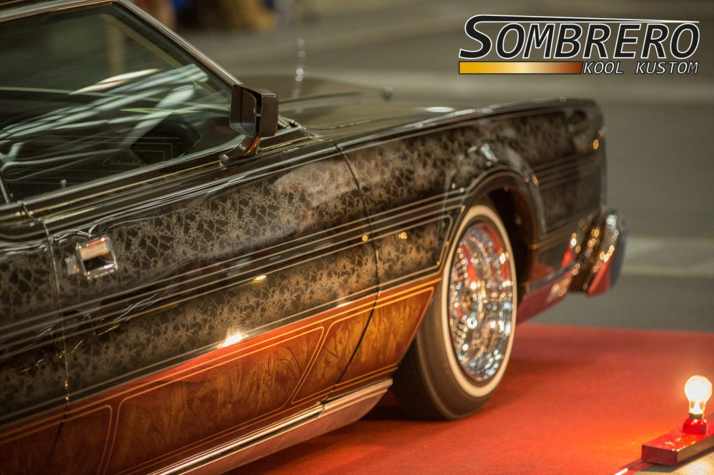 1973 Lincoln Marc 4, Lowrider, Panel Paint, Lace Paint