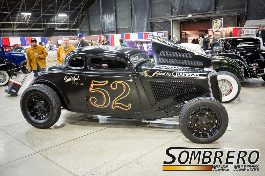 1934 Ford 5-Window Coupé, Spiteful Special, Hot Rod, Top Chop