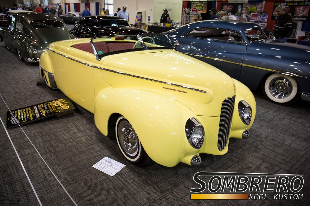 1940 Mercury Convertible, Kustom Car, Channeling, Top Chop, Sectioning