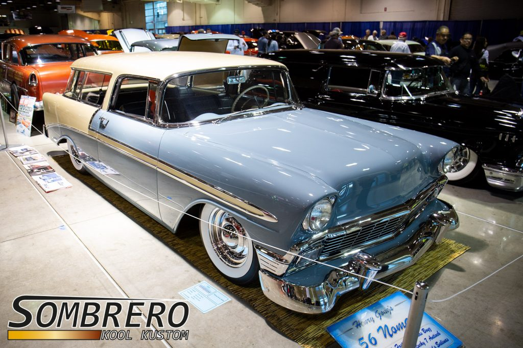 1956 Chevrolet Bel Air Nomad, Cole Foster, Salinas Boys