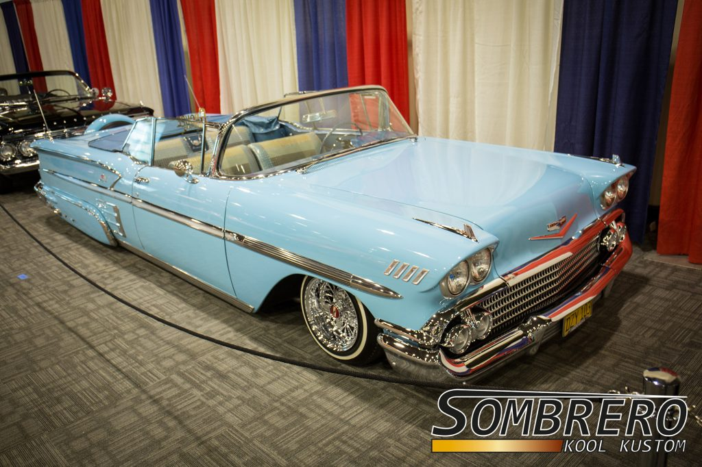 1958 Chevrolet Bel Air Impala Convertible, Lowrider
