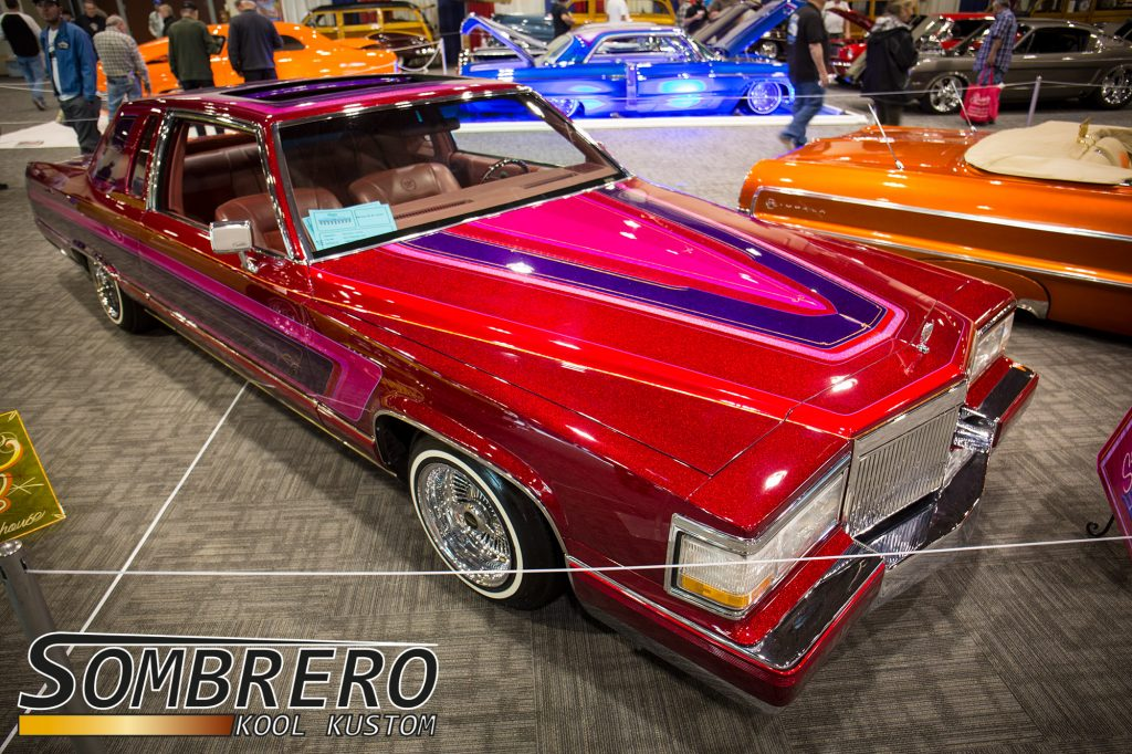 1983 Cadillac Fleetwood Brougham Coupé, Lowrider, Still Hustling
