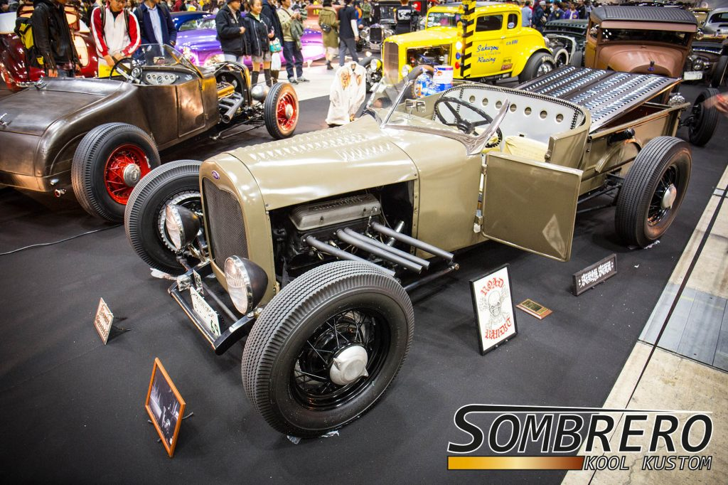 Ford Model T Roadster Pick-up, Hot Rod, DuVall Windschutzscheibe, Louvers