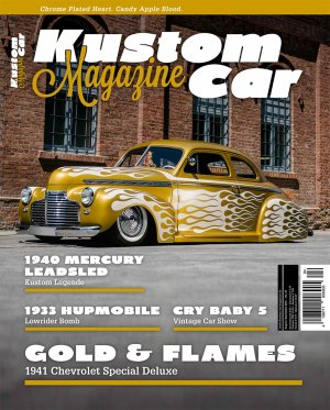 Kustom Car Magazine August/September 2015 Cover