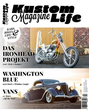 Kustom Life Magazine Ausgabe April/Mai 2016 Cover
