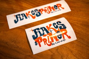 Flakes'n'Primer Stickerset, Captain Fred