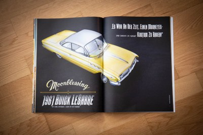 Kustom Life Magazine, 1961 Buick LeSabre Hardtop Coupe, Mooneyes Japan, Moonblessing