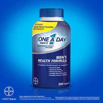 One A Day Men's Health Formula 300 vien