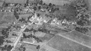 Das vermutlich älteste Luftbild von Agawang, aufgenommen um 1910