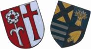 Wappen der Partnergemeinden