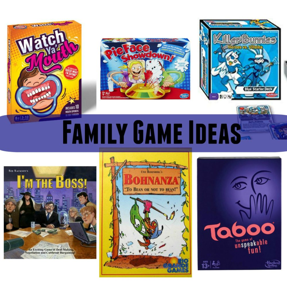 Family game night taboo