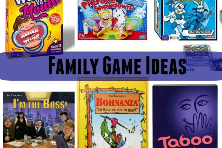 Family Game Night- Gift Ideas
