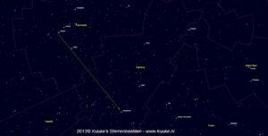 Zoekkaartje Alderamin - Cepheus