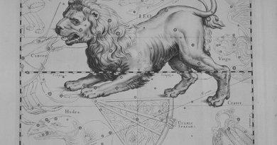 Leo uit de Uranographia