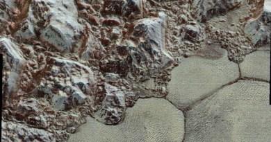 Structuren op Pluto