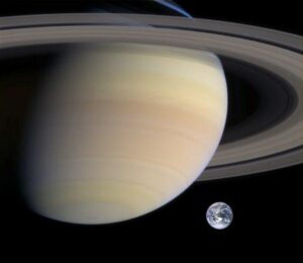 Saturnus - Aarde