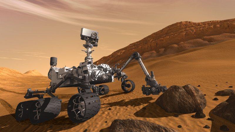 Met geavanceerde verkenners als de Curiosity wordt nog steeds gezocht naar de condities voor leven op de planeet
