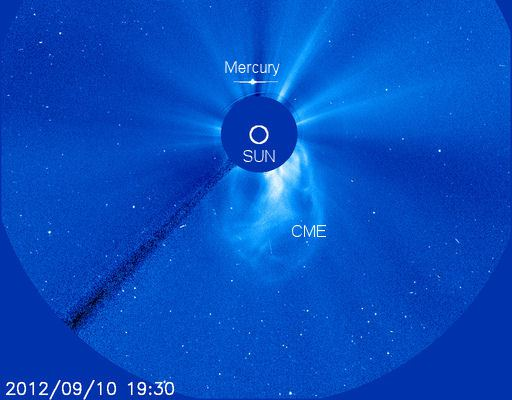 Coronal Mass Ejection op de Zon