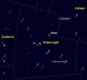 Kaart Gliese 832