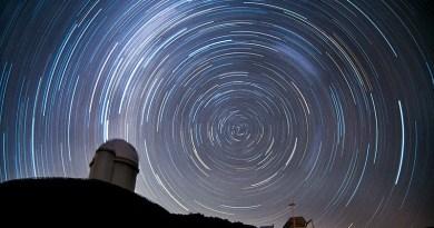 Circumpolaire sterren aan het zuidelijk halfrond