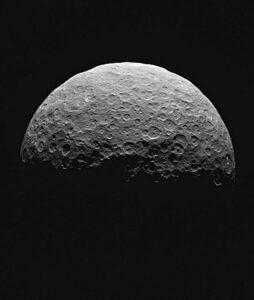 De dwergplaneet Ceres