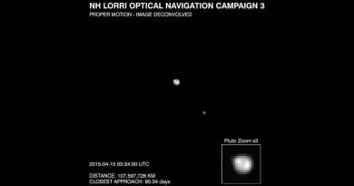 New Horizons fotografeert Pluto