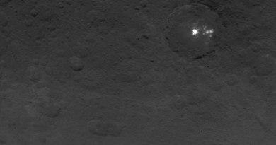 DAWN-opname van de dwergplaneet Ceres