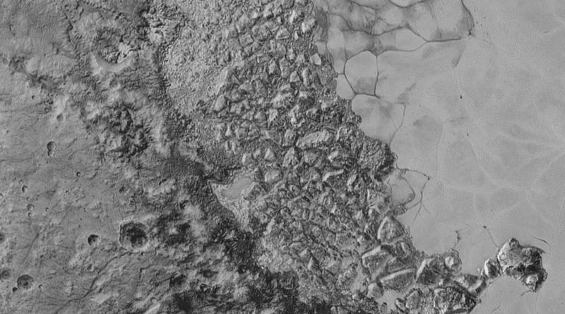 Hoge resolutie opnames van Pluto