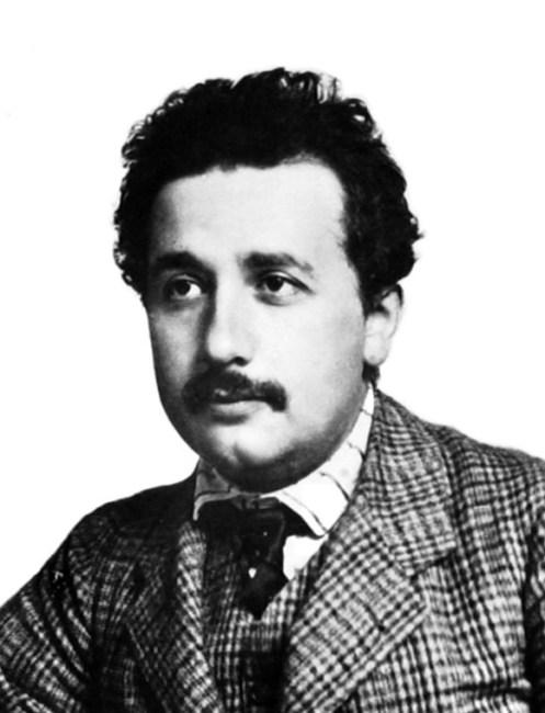 Albert Einstein in1905