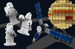 Lego aan boord van Juno