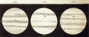 Cassini tekent de Rode Vlek