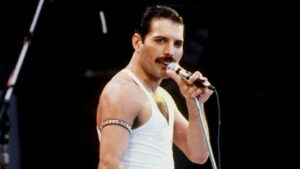 Voormalig Queen-zanger Freddie Mercury