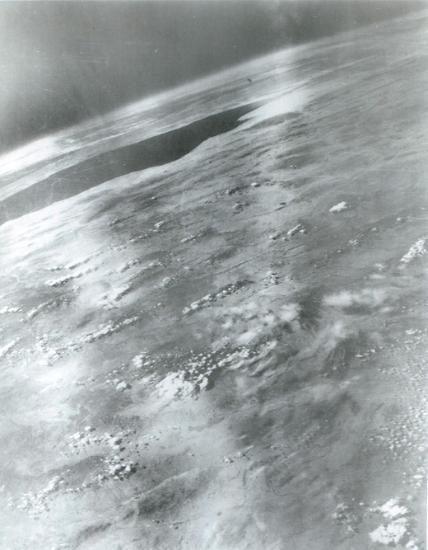 1947 - eerste foto's uit de ruimte