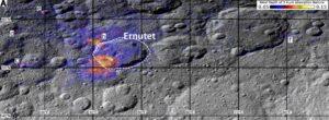 De Ernutet krater op Ceres