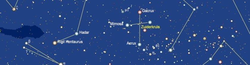 Hadar in het sterrenbeeld Centaurus