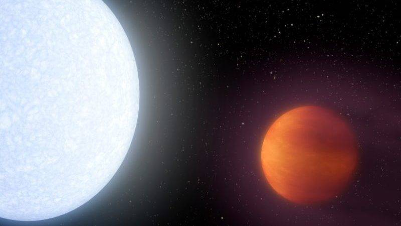 exoplaneet Kelt-9b