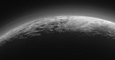 Pluto gefotografeerd door de New Horizons