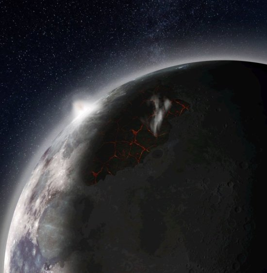 De Maan en zijn atmosfeer