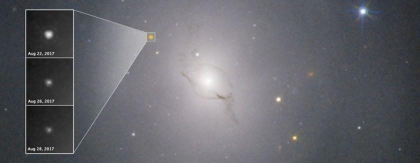 Hubble neemt de kilonova waar