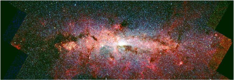 Het centrum van ons sterrenstelsel