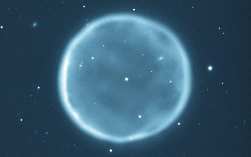 De planetaire nevel Abell 39