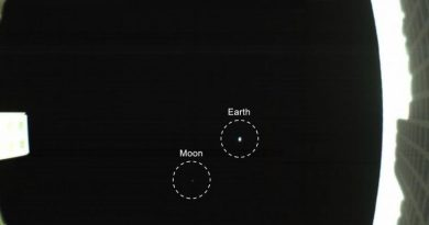 Cubesat fotografeert Aarde-Maan