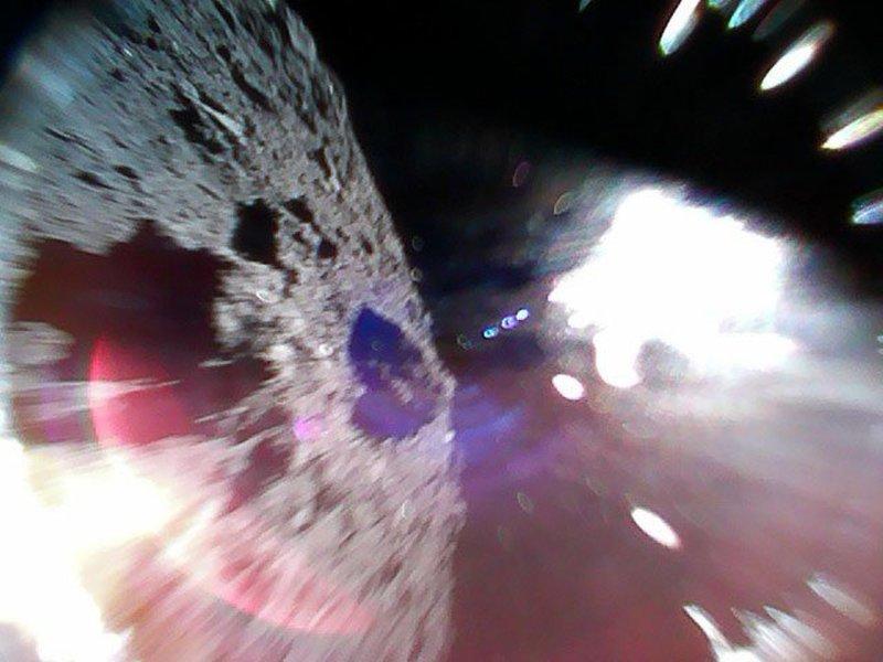 MINERVA-II1A landt op asteroïde Ryugu