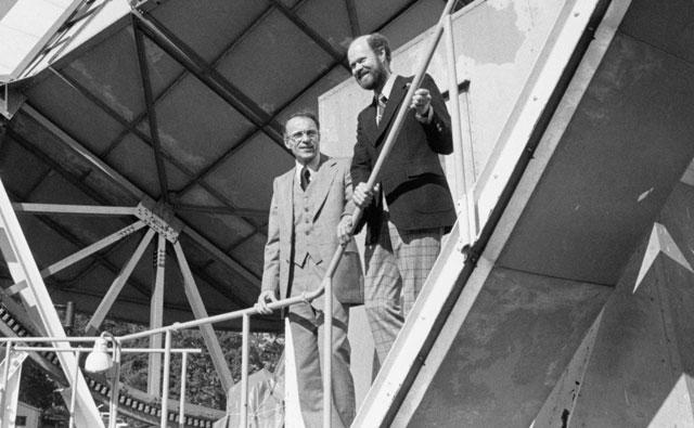 Arno Penzias en Robert Wilson
