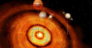 reuzenplaneten bij babyster