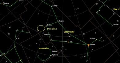 Radiant meteorenzwerm Boötiden
