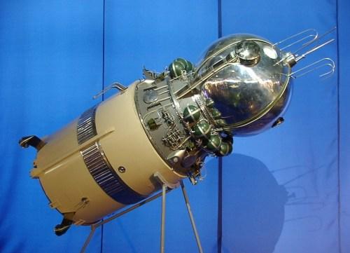 Model van de Vostok 1